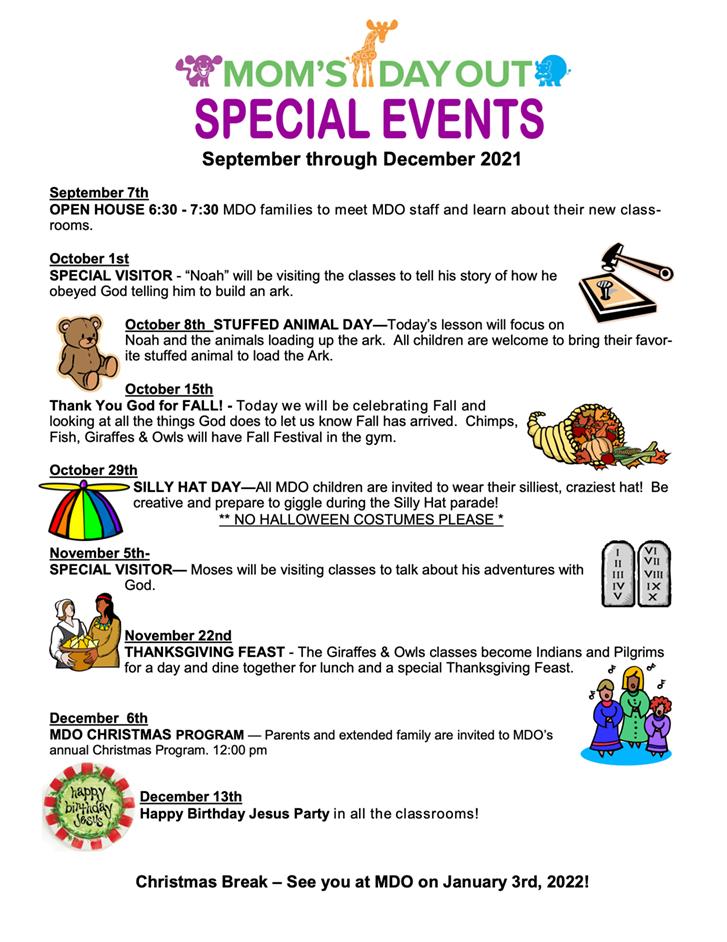Parent Event Calendar- graphics 20-21 Page 1